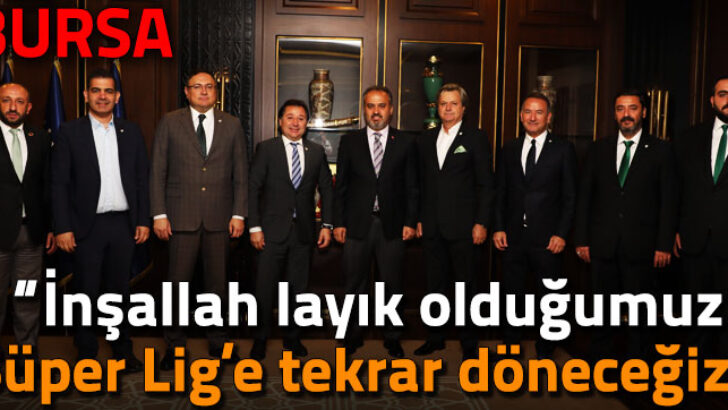 """""""Bursaspor'a sahip çıkalım"""""""