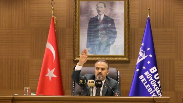Bursa'nın yol haritası 'Meclis'ten geçti