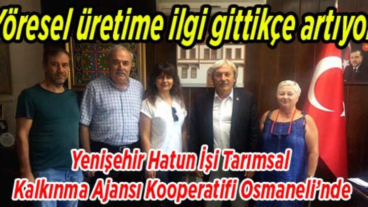 Yenişehir'de kadınlar bir ilk'e imza attı!