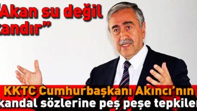 Akıncı'ya Bir Tepkide AK Partiden!