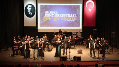 Nilüfer Kent Orkestrası'ndan unutulmaz yeni yıl konseri