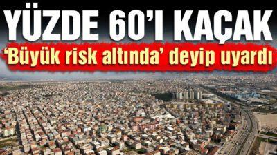 Bursa'da yüzde 60 kaçak yapı var