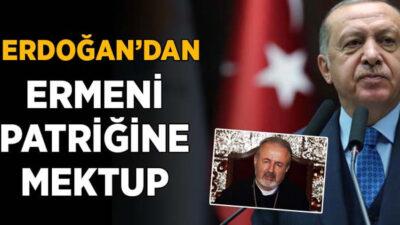 Erdoğan'dan Türkiye Ermenileri Patriği Maşalyan'a mektup
