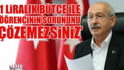 CHP Genel Başkanı Kılıçdaroğlu, öğretmen ve velilerle görüştü