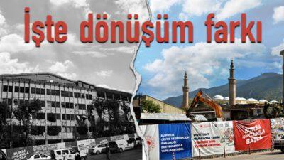 Bursa'da Ulu Cami gün yüzüne çıktı