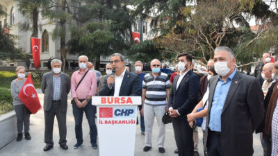 BURSA CHP'DEN ATA'YA SAYGI
