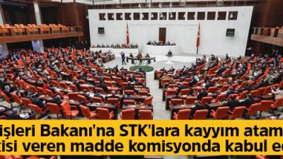 İçişleri Bakanı'na 'kayyım' yetkisi
