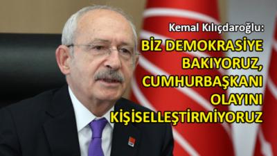 CHP Genel Başkanı Kılıçdaroğlu'ndan kritik açıklamalar