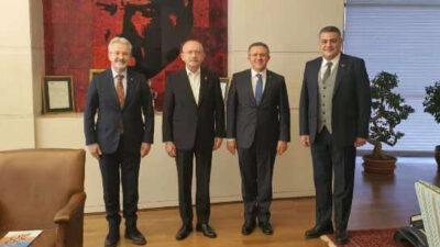 CHP'li Nilüfer'den CHP liderine Kılıçdaroğlu'na ziyaret