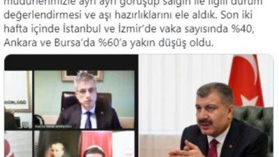 Bakan Koca müjdeyi verdi: Bursa ve Ankara'da…