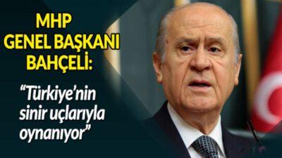 Türkiye'nin sinir uçlarıyla oynanıyor!