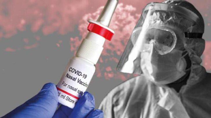 Sprey aşı salgını bitirebilir