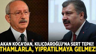 Koca'dan Kılıçdaroğlu'na çok sert tepki!
