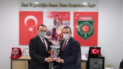 Saadet Partisi Yıldırım İlçe Teşkilatından Şehit ve Gaziler Derneğine Ziyaret