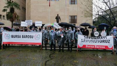 Bursa'da Avukatlar Günü kutlan(ma)dı!