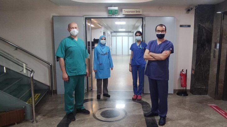 Bursa'da pandemiye rağmen organ nakilleri sürüyor