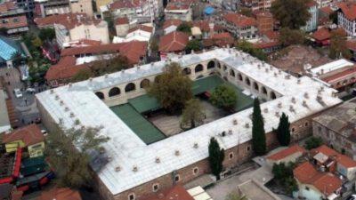 Bursa'nın tarihi Pirinç Han'ı depoya döndü!
