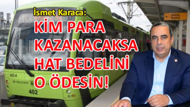 CHP İl Başkanı Karaca: 'Bursaray'da büyük kazık!'