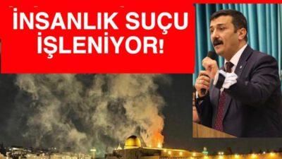 ZALİM İSRAİL'İN ZULMÜNÜ LANETLİYORUZ!