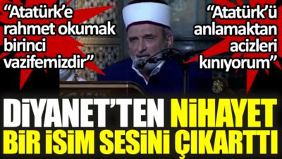 Atatürk'ü anlamaktan aciz hainleri kınıyorum