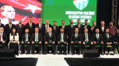 Bursaspor'da kongre bitti! İşte yeni başkan ve ekibi…