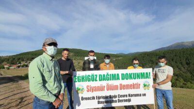 Kütahya'da Maden Uğruna Sessiz Sedasız Yapılan Ağaç Katliamına Köylülerden Sert Tepki!