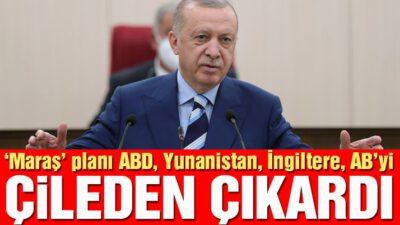 Erdoğan'ın Kapalı Maraş açıklamaları Batı'yı çileden çıkardı!